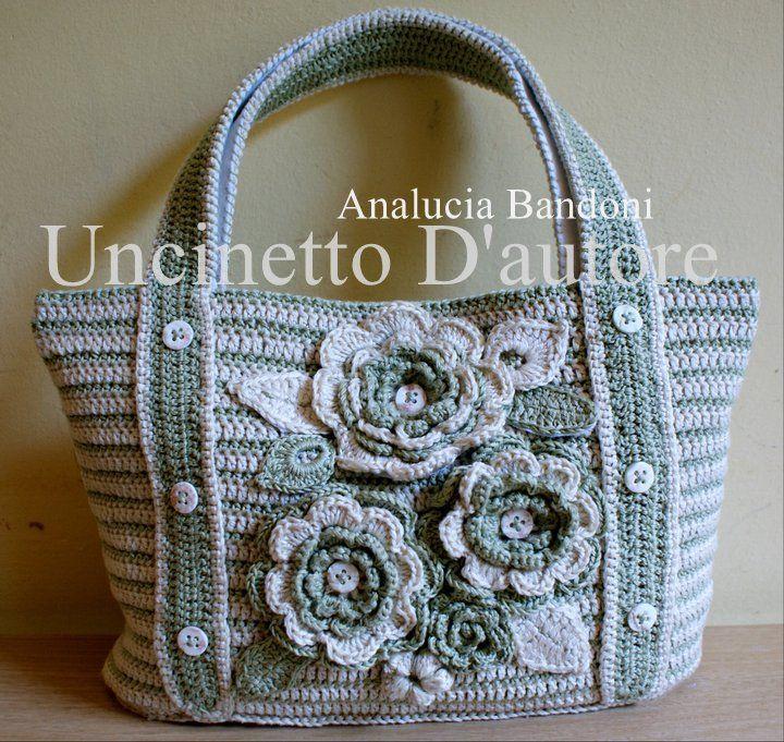 Crochet bag borsa uncinetto bolsa em croche