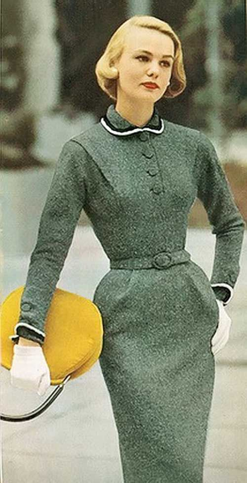 50er Jahre Vintage Frisuren Fur Kurze Haare Kurze Haare Modelle