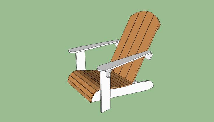 Adirondack Chair Plans Free adirondack chair plans