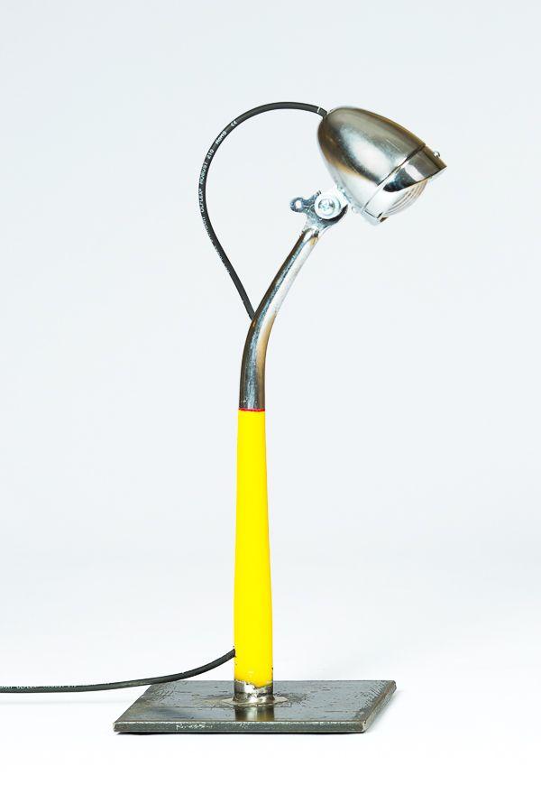 Genial: Eine Lampe aus einem Vorteil eines Fahrrads - und fesch noch dazu!