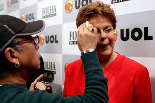Folha Política: Maquiagem e penteado de Dilma custam, a cada pronunciamento, R$3125,00 aos cofres públicos