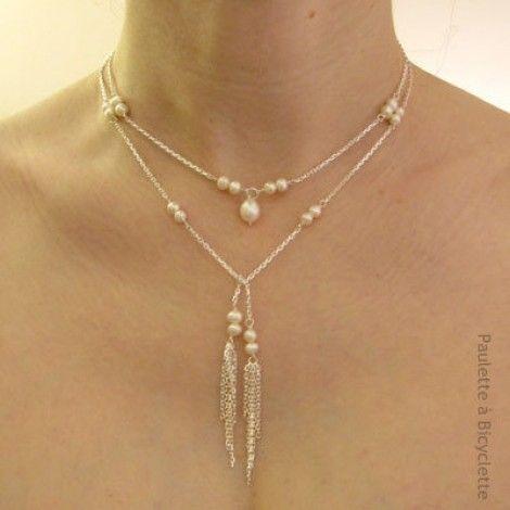 bijoux-mariage-collier-mariee-dos-argent-perles 129 €