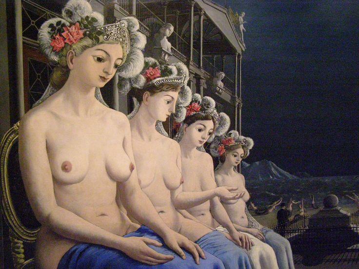 Paul Delvaux, Grandes sirènes