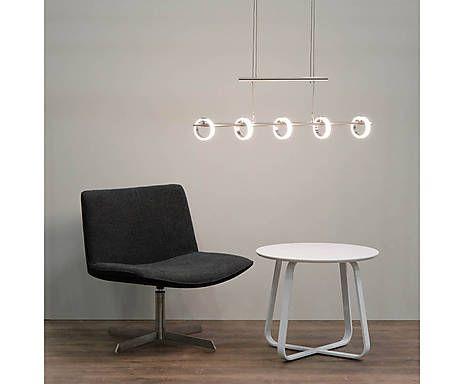 XL-LED-Hängeleuchte Futura, L 85 cm von Sorpetaler Leuchten