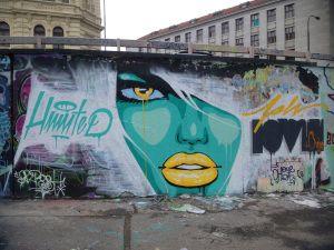 Prague, pot and graffiti
