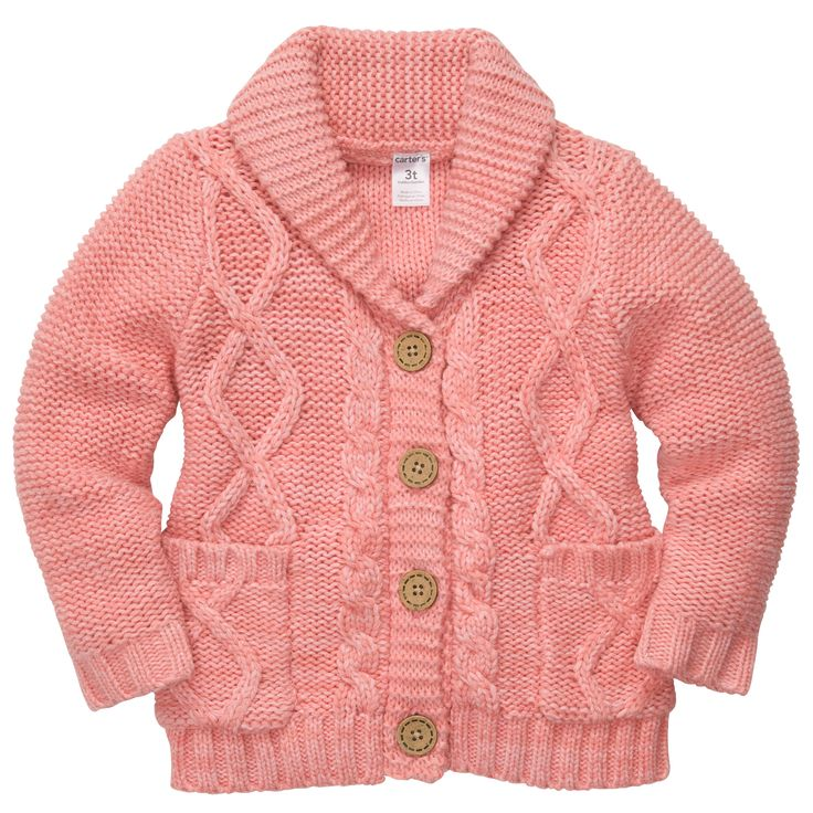 Girls' cardigans and pullovers are wonderful layering pieces that can add versatility to any wardrobe. Help your little girl stay cozy all winter long with sweaters from Sears. A fuzzy sweater is a comforting option for a chilly fall day.