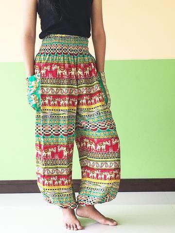 3168c1c952c hippie summer trousers womens balloon Yoga Pants - best harem cargo girls  pants yoga pants womens