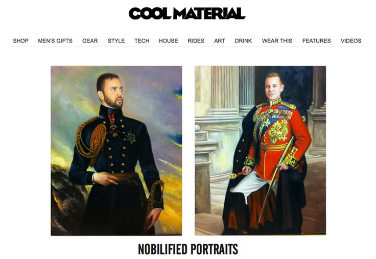 We are happy to share that the great guys at Coolmaterial.com has showed appreciation of what we do at Nobilified.  @coolmaterial
