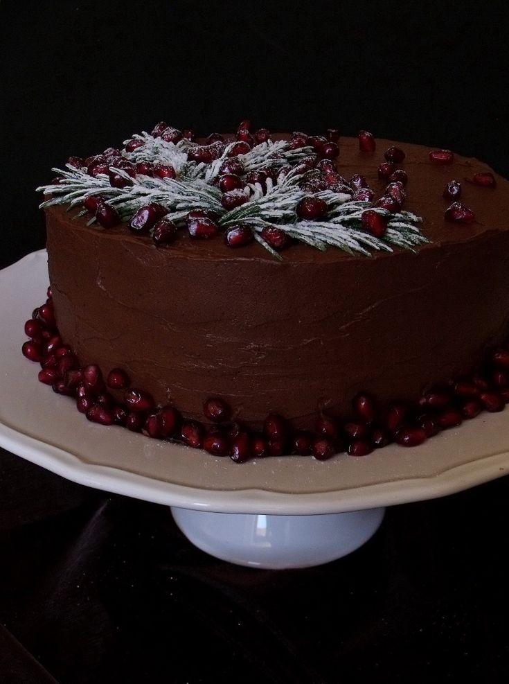 Citromhab: Csokoládétorta