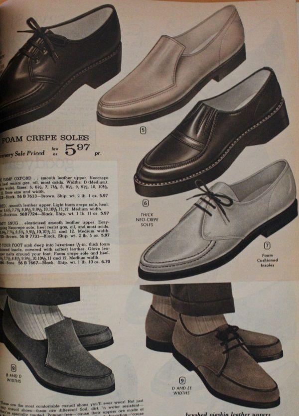 60s Mens Shoes 70s Mens Shoes Platforms Boots 1960s Fashion Mens Vintage Clothing Men Mens Casual Shoes