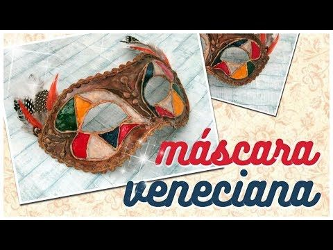 MÁSCARA VENECIANA PARA CARNAVAL | paso a paso - YouTube Venetian Masks, Diy, Youtube, Faces, Mask Party, Masquerade Prom, Infant Crafts, Carnival Of Venice, Venetian