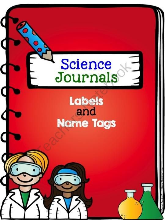 Science Journals: Labels and Name Tags from WingedOne on TeachersNotebook.com -  (23 pages)  - Science Journals: Labels and Name Tage