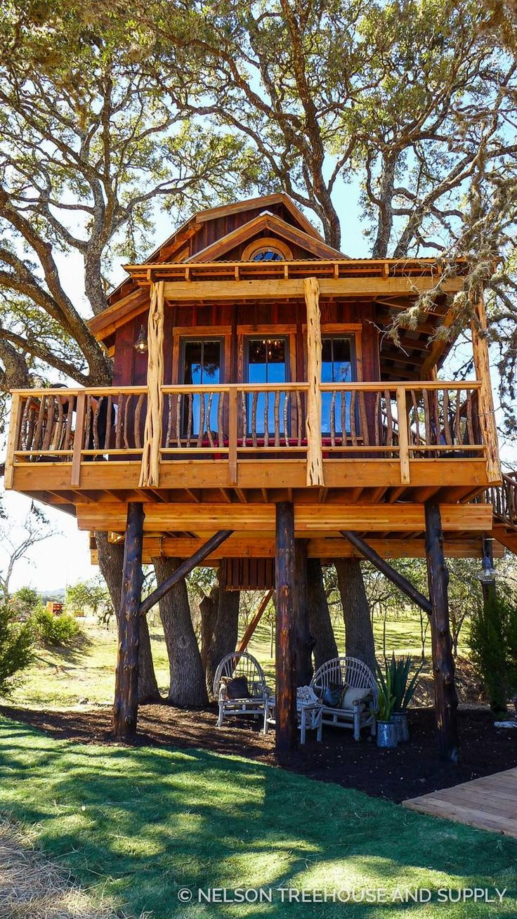 Hill Country Hideout Pete Nelson Treehouse