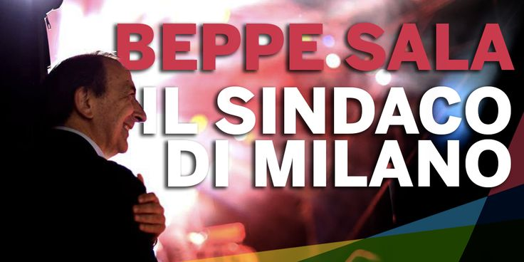 Beppe Sala Sindaco, amministrative 2016 // graphic