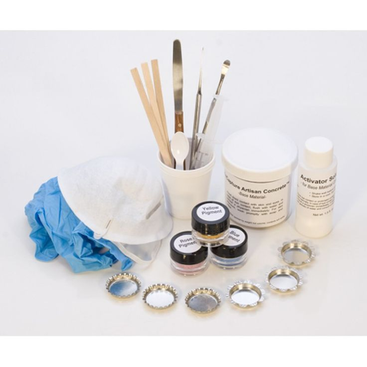 ENCAPTURE ARTISAN WHITE CONCRETE KIT! Find these tools and more at JewelryTooling.com