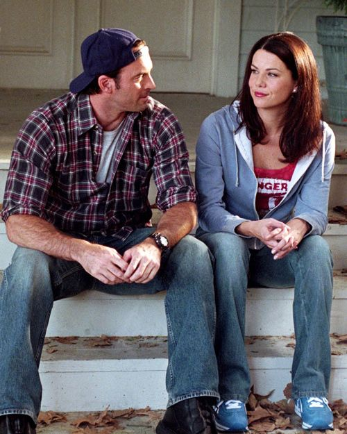 "Luke and Lorelai - quickly moving up the ranks of ""Best TV Couple EVER."" If, when I finish all seven seasons, they are not together--I will stab myself in the eye with a pencil!!"