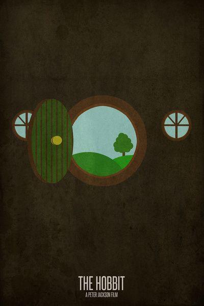 Hobbit Minimalist Posters  by Matt Humphrey