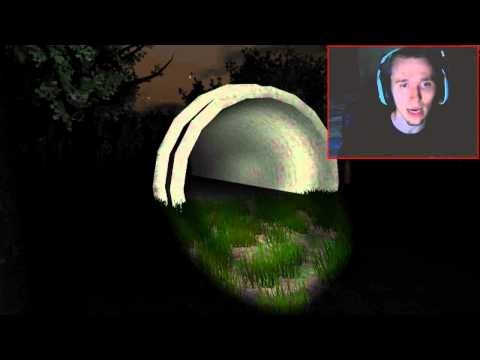 Scary Games - Slender Game Attempt 4 - ENDING MADE ME CRY! :'(