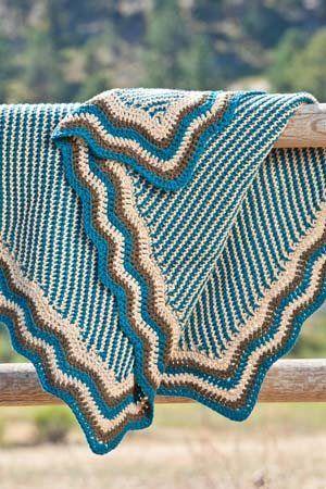 Hap Blanket - Media - Crochet Me _____ might be good edge