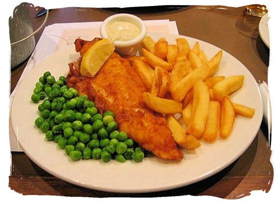 Hello fish and chips.  You look absolutely gorgeous as always.....