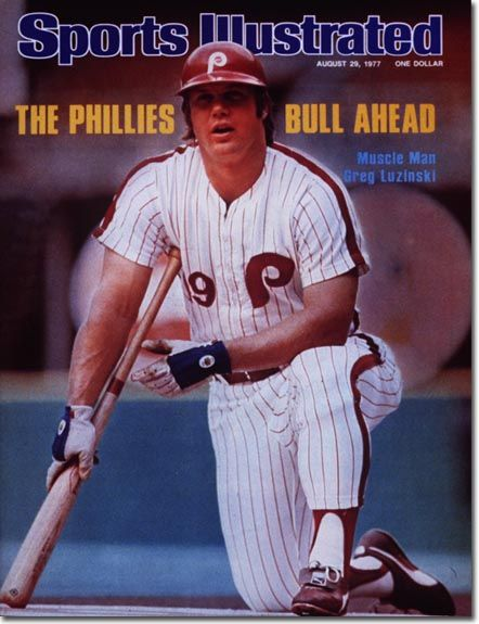 Greg Luzinski Sports Illustrated Philadelphia Phillies Baseball 1977