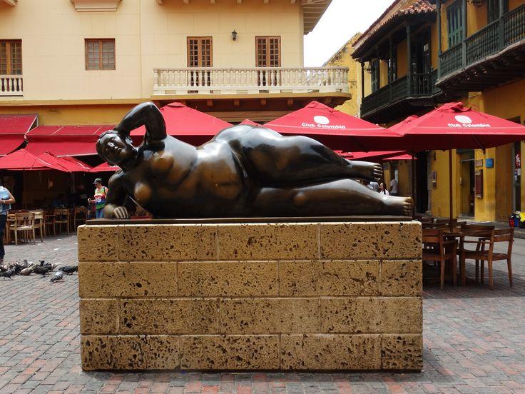 ESTATUA BOTERO - Cartagena Colombia