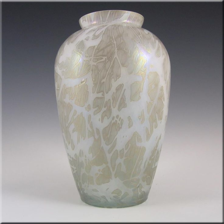 Royal Brierley Iridescent Glass Studio Vase - Marked - £29.99