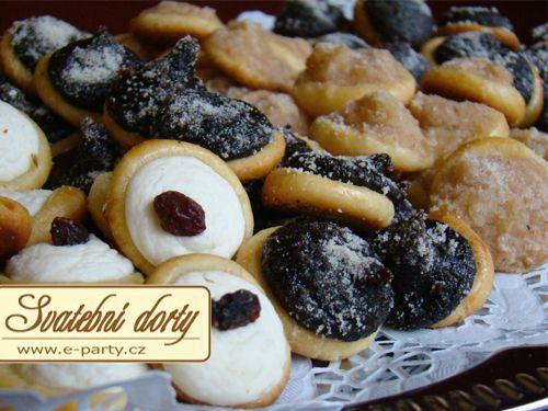Svatební dorty, Narozeninové dorty Zdeňka Nedvědová - Svatební koláčky