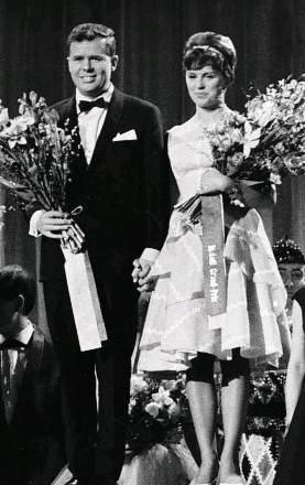"Grethe Ingmann and Jørgen Ingmann, representing Denmark, won the Eurovision Song Contest 1963 with the song ""Dansevise""."