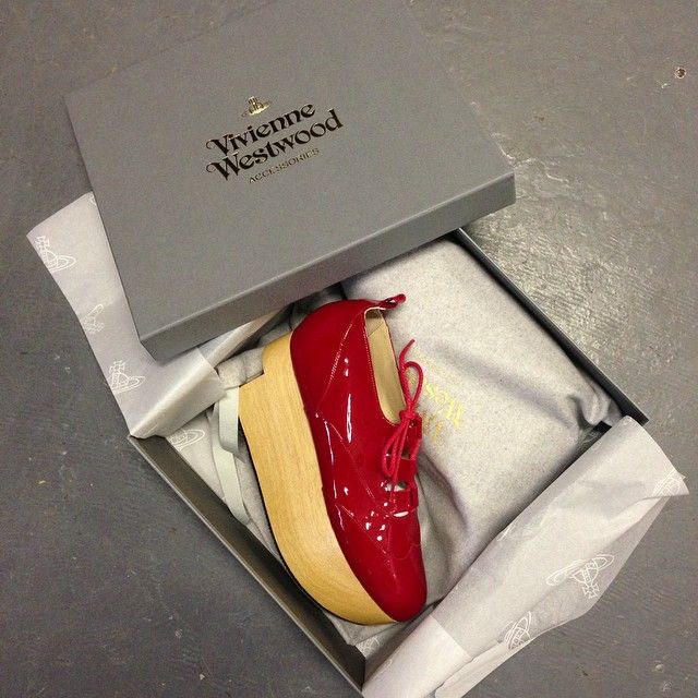 Vivienne Westwood Gold Label Rocking Horse Shoes Gillies in Red Patent