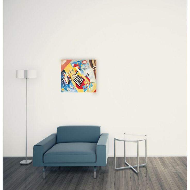KANDINSKY - Trama Nera 1922 52x55 cm #artprints #interior #design #art #print #iloveart #followart #artist #fineart #artwit  Scopri Descrizione e Prezzo http://www.artopweb.com/autori/wassily-kandinsky%20/EC21825