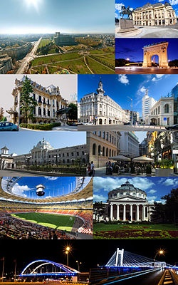 Bucharest, a beautiful capital of Romania
