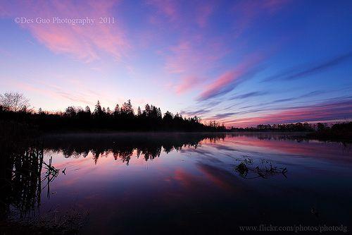 Sunrise, Surrey Lake Park, Surrey BC