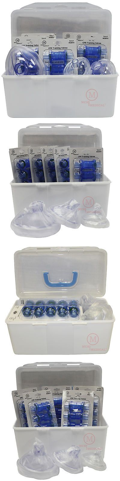 Kits and Bags: 50 Pack Cpr Training Valves - For Pocket Rescue Mask Training With Cpr Manikins BUY IT NOW ONLY: $49.95