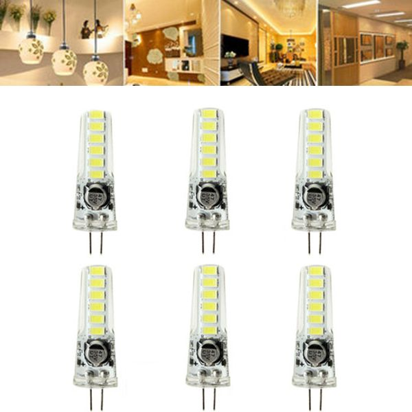 Zx Mini G4 Led Cob Ac Dc 12v Pure White Warm White Chandelier Light Replace Halogen G4 Lamps Bulb White Chandelier G4 Led Bulb