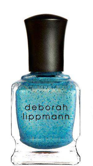 MERMAID'S EYES - new! seaside cerulean (glittered shimmer) // Deborah Lippmann