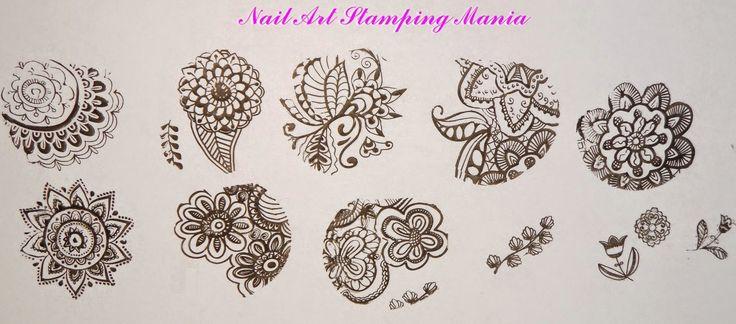 Nail Art Stamping Mania: New Born Pretty BP-L Rectangular Plates Review