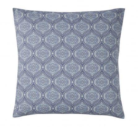 Rania Blue European Pillowcase