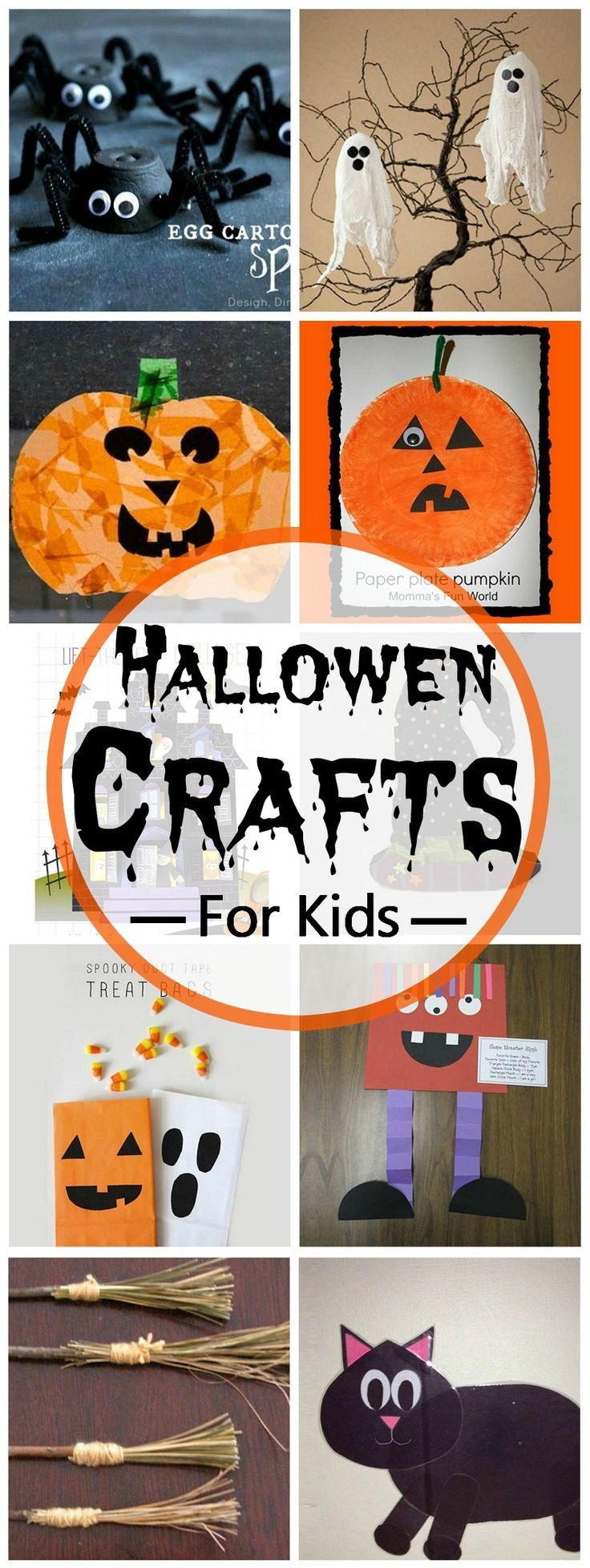 17 best ideas about preschool halloween crafts on for Halloween decorations you can make at home
