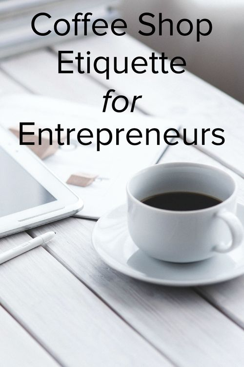 If you are an entrepreneur/solopreneur - read this before you go to the coffee shop. Avoid the coffice faux pas by getting up to date on etiquette. Working from home can be a drag some days, so read this list and then go to your local cafe.