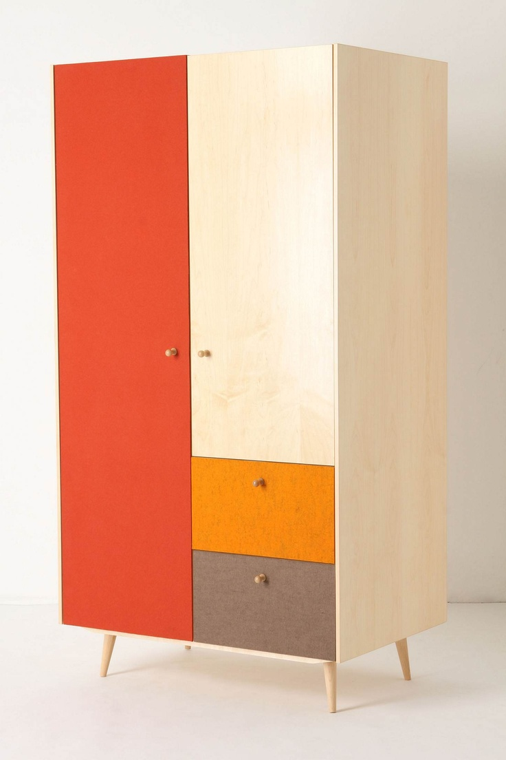 color block wardrobe.. Why does this have to be from anthropologie??? This means I'll never own it unless I win the lottery.