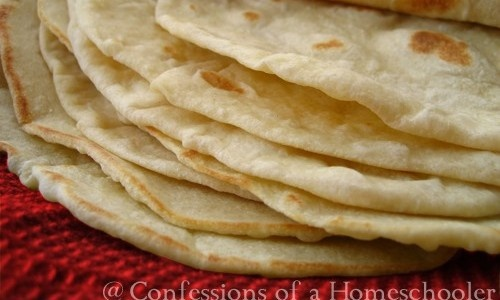 Homemade Whole Wheat and Flour Tortillas