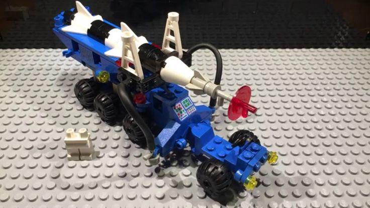 1984 Lego Space Lunar Rocket Launcher - 6881