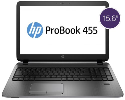 HP ProBook 455 – 15.6″, 1.8GHz Processor, 500GB Storage
