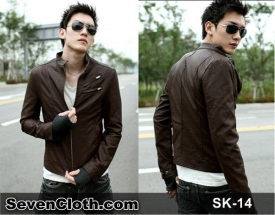 jual jas blazer jaket korea murah online (sk 14) kulit sintetis