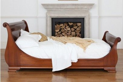 Manoir Wooden Sleigh Bed 1