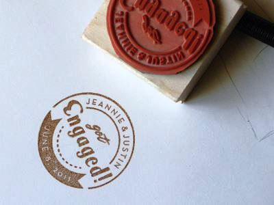 Engagement Stamp