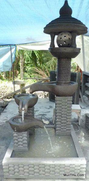 Air Mancur Batu Merapi