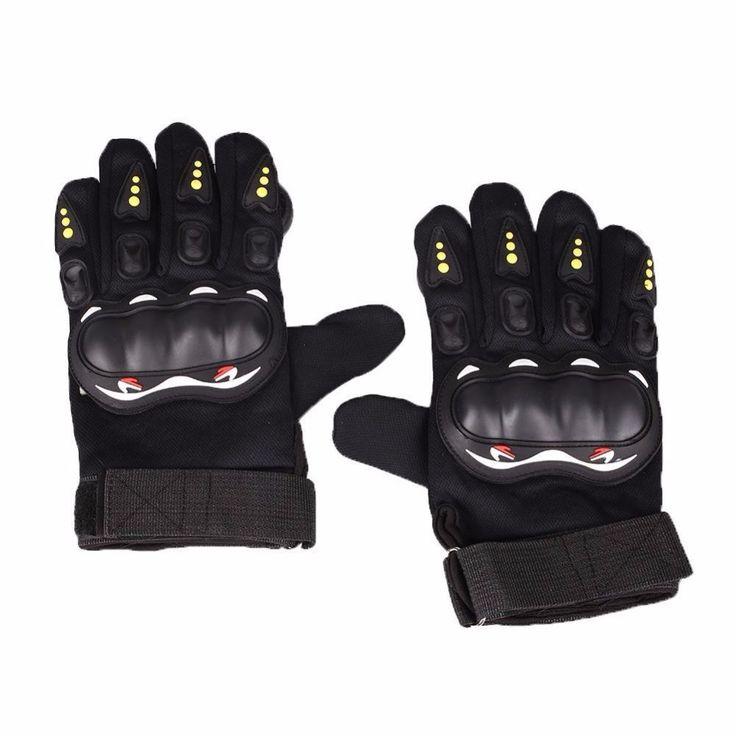 1 Pair Professional Skateboard Gloves Women Man Adult Shockproof Longboard Downhill with Foam Palm Ski race Full Finger Sport