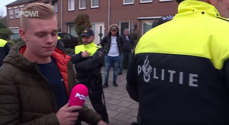 Terwijl cameraploegen worden aangevallen in Venlo kijkt de politie toe: Geen enkele arrestatie